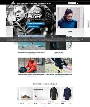Adidas Screenshot
