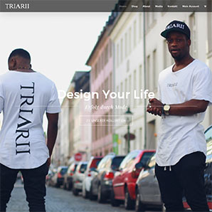 Triarii Apparel Screenshot