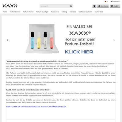 XAXX Screenshot