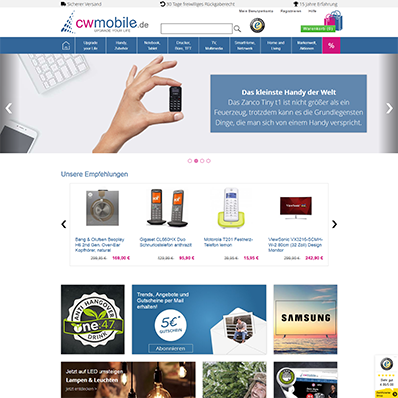 cw-mobile Screenshot