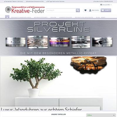 Kreative-Feder Screenshot