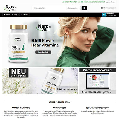 NaroVital Screenshot