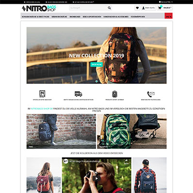 Nitrobags Shop Screenshot