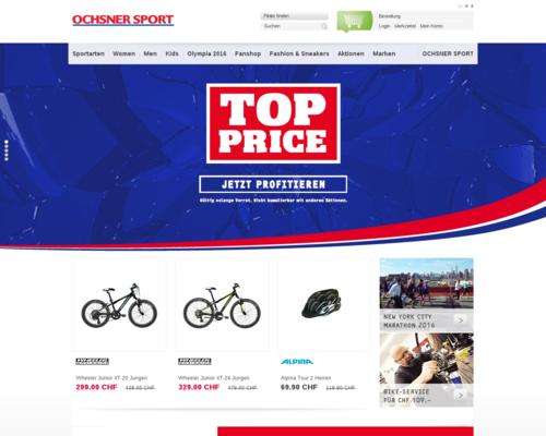 Ochsner Sport Screenshot