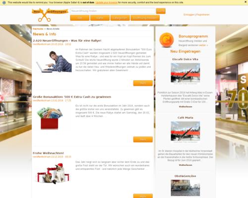 neueroeffnung.info Screenshot