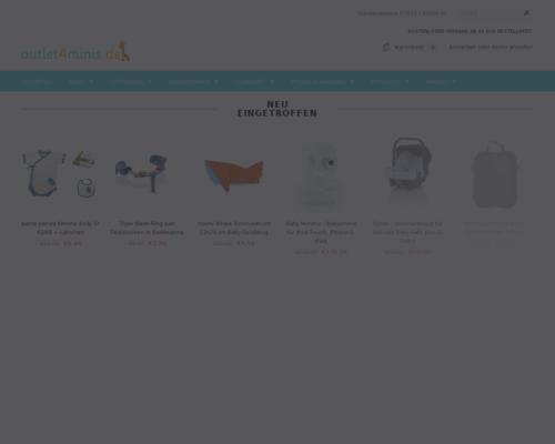 Outlet4Minis Screenshot