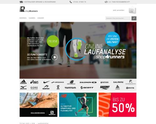 shop4runners Screenshot