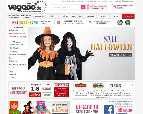 Vegaoo Screenshot