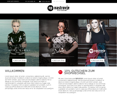 Napo-Shop Screenshot