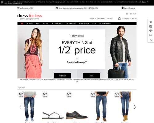 Dress-For-Less Gutscheincode