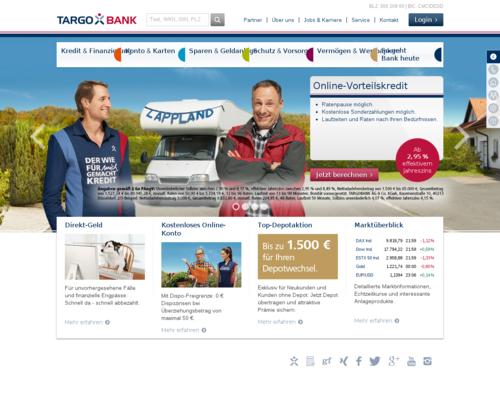 Targobank Screenshot