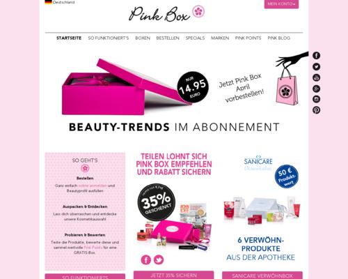 Pink Box Screenshot