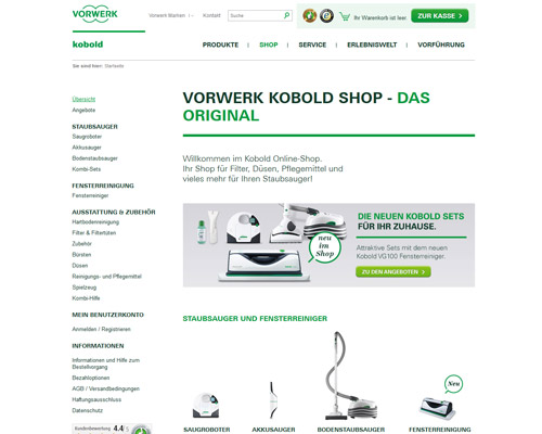 Vorwerk Screenshot