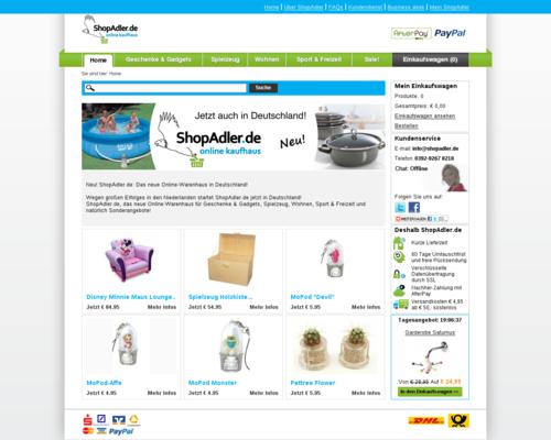 ShopAdler Screenshot