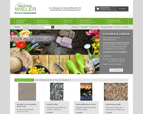 Naturstein Wieler Screenshot