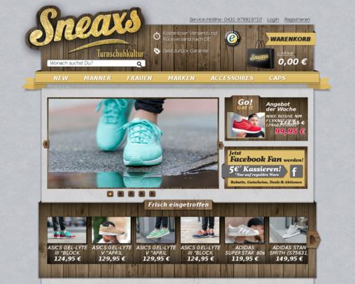 Sneaxs Screenshot