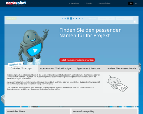 NameRobot Screenshot