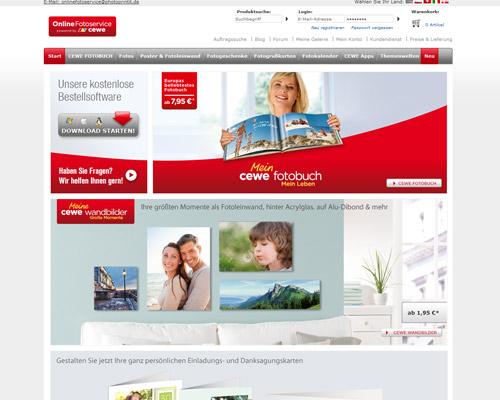 OnlineFotoservice Screenshot