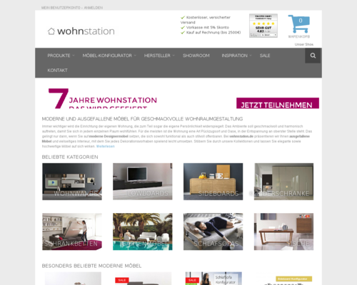 Wohnstation Screenshot