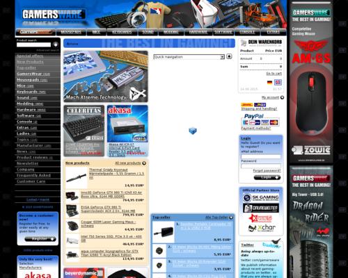 GAMERSWARE Screenshot
