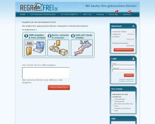 Regalfrei Screenshot