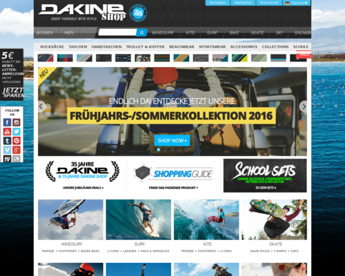 Dakine Screenshot