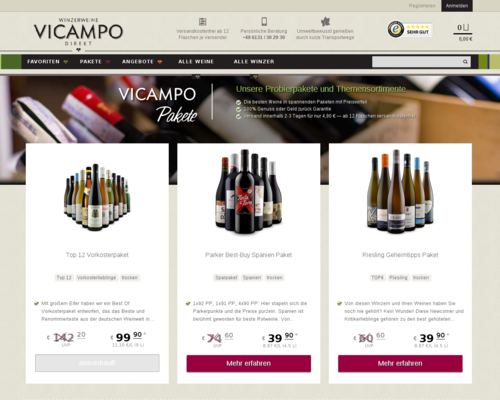 Vicampo Screenshot