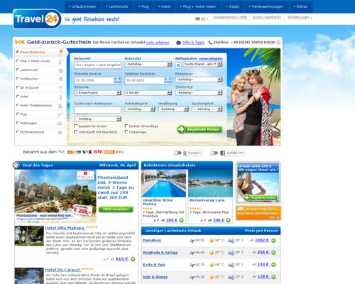 Travel24 Screenshot