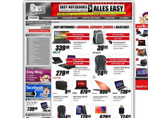 Easynotebooks Screenshot