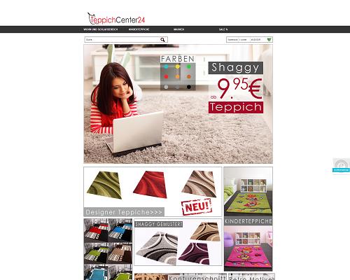 Teppichcenter24 Screenshot