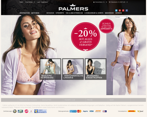 Palmers Screenshot