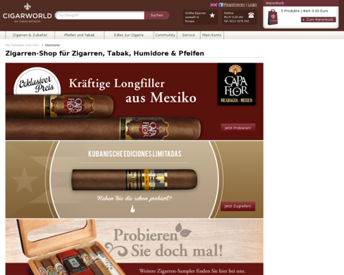 Cigarworld Screenshot