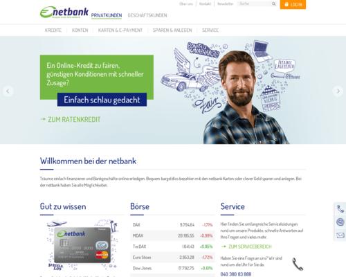 Netbank Screenshot