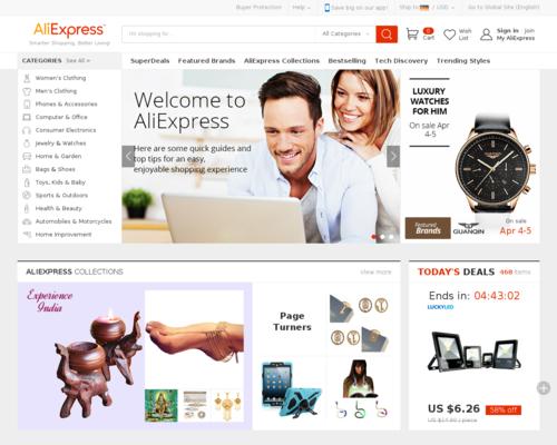 AliExpress Screenshot