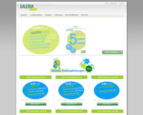 Galeria mobil Screenshot