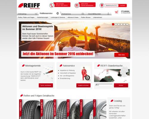 Reiff Reifen Screenshot