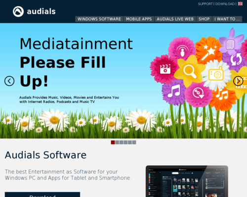 Audials Screenshot