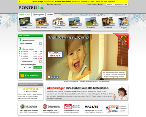 Posterlia Screenshot