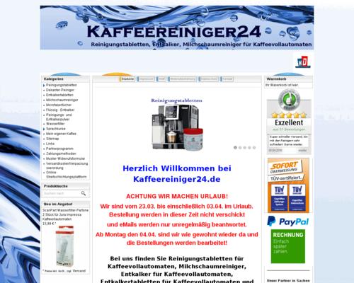 Kaffeereiniger24 Screenshot