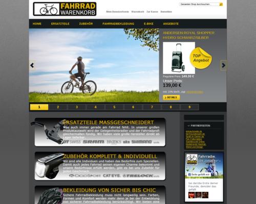 fahrradwarenkorb Screenshot