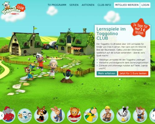 Toggolino Club Screenshot