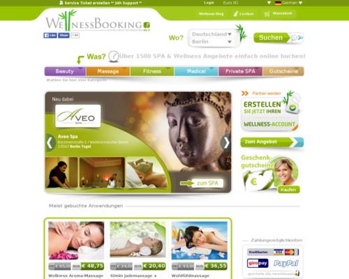 WellnessBooking Screenshot