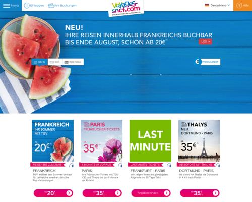TGV-Europe Screenshot