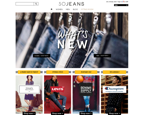 Sojeans Screenshot