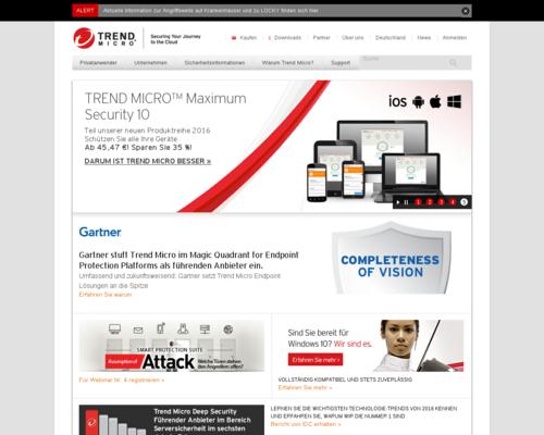 Trend Micro Screenshot
