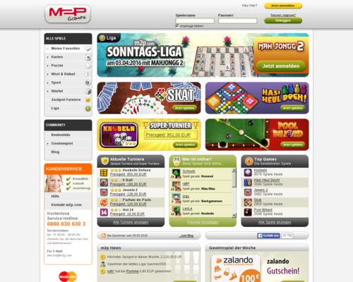 M2P Games Screenshot