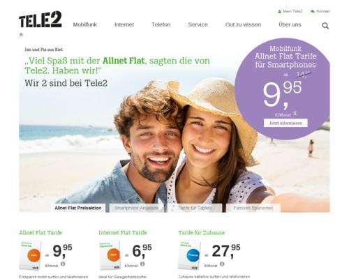 Tele2 Screenshot