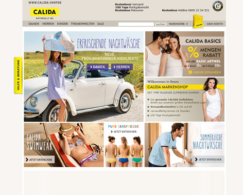 Calida Screenshot