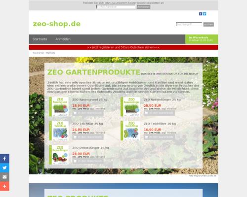 Zeo Streu Screenshot