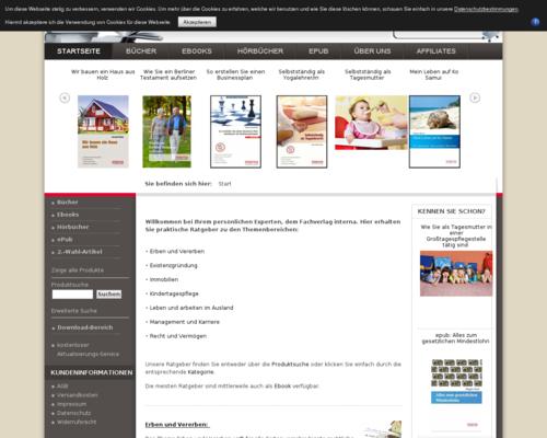 Verlag Interna Screenshot